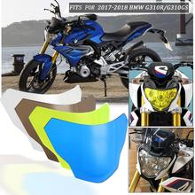 Motorcycle Headlight Protector Cover Screen Lens for 2017 2018 BMW G310R G310GS G 310 R GS Headlight Lens Screen Shield Cover motorbikes accessoris abs plastic headlight plastic lamp lens cover protector shield for 2017 2018 bmw g310r g310gs 17 18