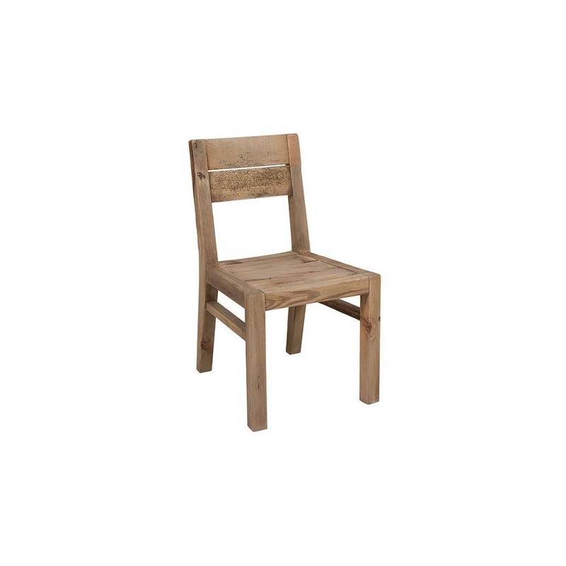 Dining Chair (49x55x87 Cm) Recycled Wood