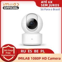 Глобальная версия IMILAB 016 IP-камера видеоняня Smart Mi Home App 360 ° 1080P HD WiFi камера видеонаблюдения камера