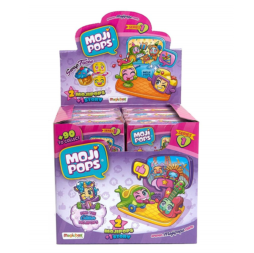 Dipsplay 12's Story Box With Figures MojiPops