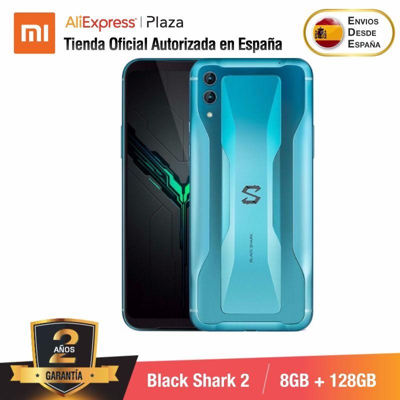 [Global Version for Spain] Xiaomi Black Shark 2 (Memoria interna de 128GB, RAM de 8GB, Camara dual de 48MP+12MP, Gaming Phone)