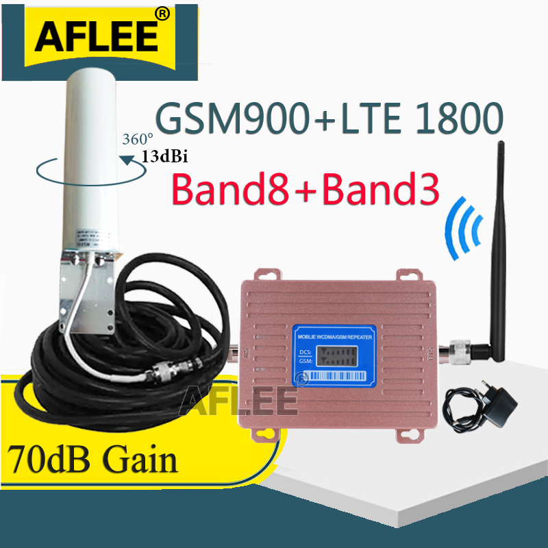 900 1800 2100 GSM Repeater 2G 3G 4G Cellular Signal Amplifier LTE 3G 4G DCS Cellular Amplifier 4G Network Mobile Signal Booster