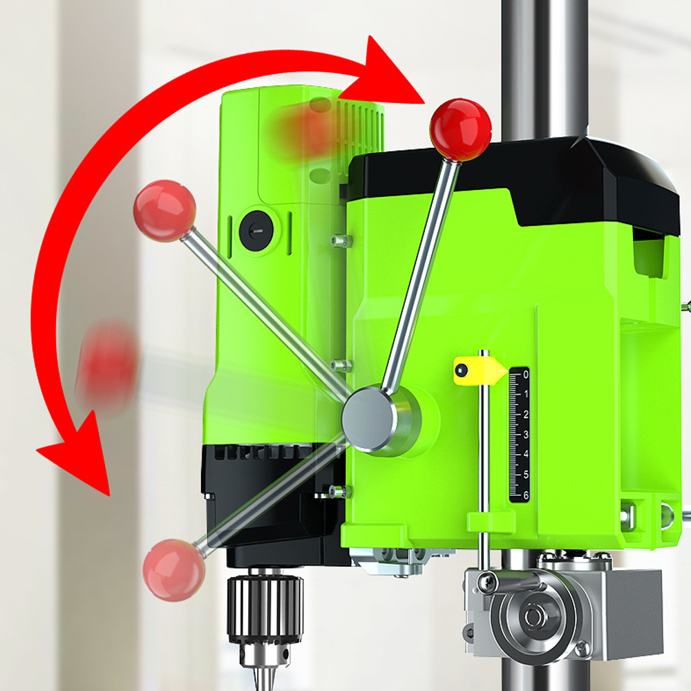 Tools : ALLSOME MINIQ Bench Drill Stand Cross Slide Vise Milling Machine Worktable Bench Flat Vise Universal Angle Grinder Stand Holder