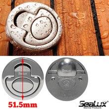 Sealux Marine Grade Stainless Steel 316 Spring Loaded Storage Hatch Locker Flush Lift