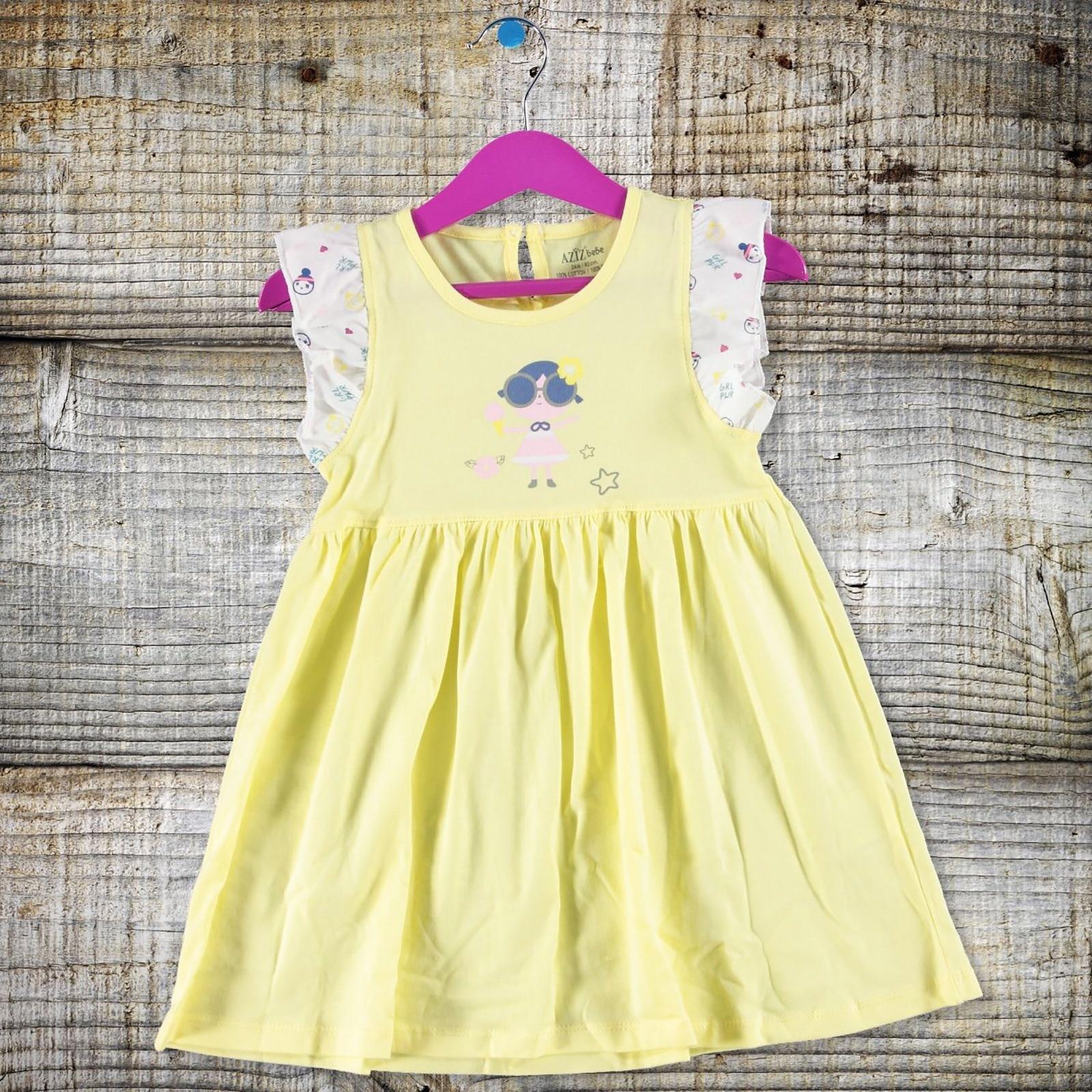 Ebebek Aziz Bebe Baby Girl Ruffled Dress