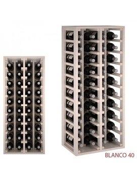 Botellero  Blanco 40  botellas недорого