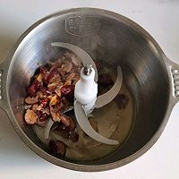 奶香核桃红枣糕的做法图解2