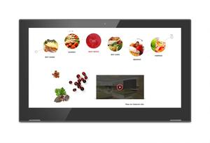 Image 4 - 13.3 inch Android touch screen all in one desktop PC (octa core, 1GB DDR3, 8GB nand, RJ45, wifi, Bluetooth, IPS screen)