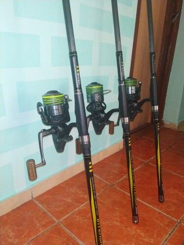 Varas de pescar Spinning 3.25lb 80-200g