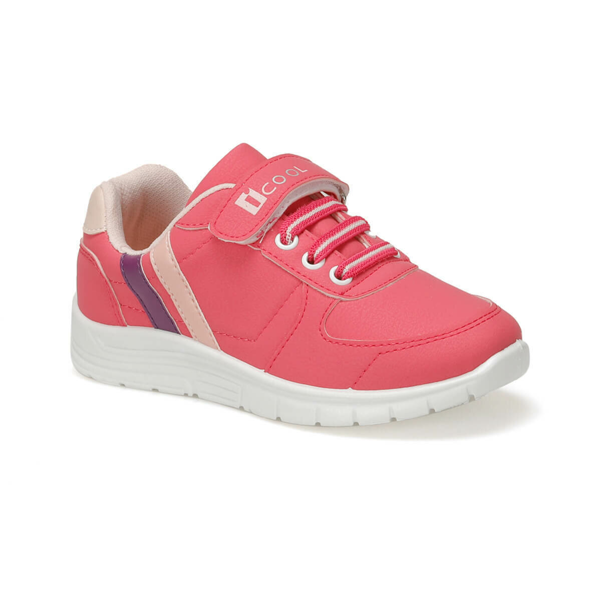 FLO DEMBA Y Fuchsia Female Child Sneaker Shoes I-Cool