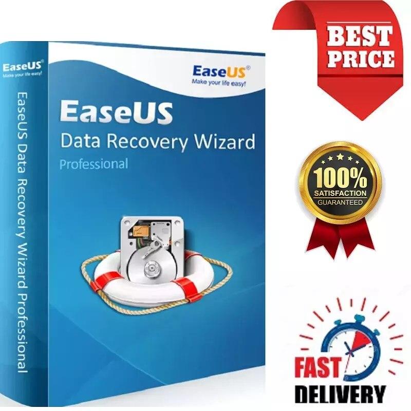 EaseUS  book – assistant de récupération de données professionnel à vie, 2020