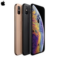 Original New iPhone Xs/Xs Max 4G LTE FaceID All Screen 5.8/6.5 OLED Super Retina Dispay IOS Smart Phone IP68 Waterproof Mi