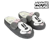 Haus Hausschuhe Minnie Maus Grau -