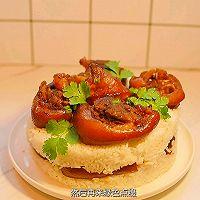 """#美食说出""""新年好""""#不加一滴水的猪脚蛋糕的做法图解13"""