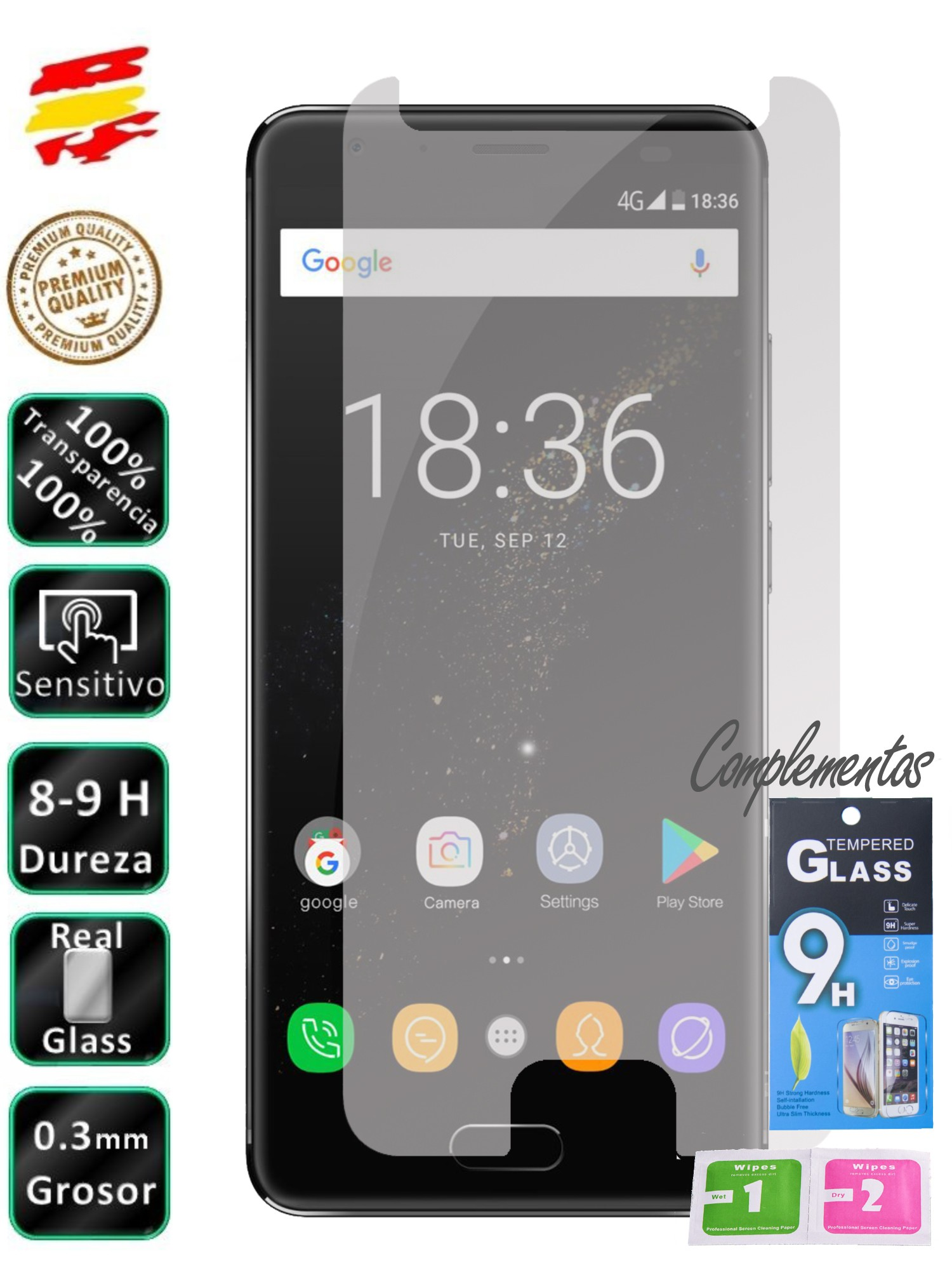 Protector for <font><b>Oukitel</b></font> <font><b>K8000</b></font> 4G Glass <font><b>Screen</b></font> Tempered Glass for Mobile image