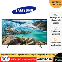 TV SAMSUNG 4K 50 UE50TU7172UXXH and 55 UE55TU7172UXXH, Smart TV original, free from Spain, square, Old 2 warranty