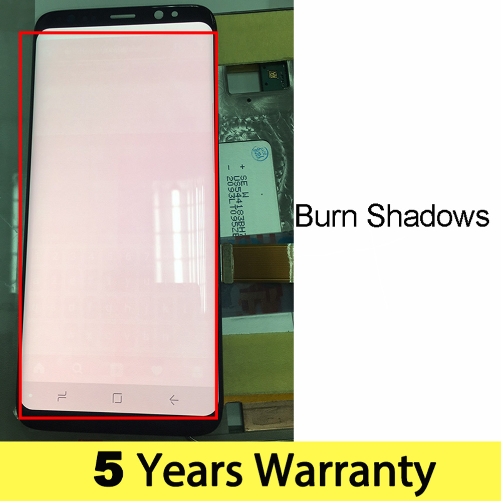 Wholesale Lcd For Samsung S8 Display Touch Screen Original G950F G950U G950Fd Display For Samsung S8 Lcd Touch Galaxy S8 Screen