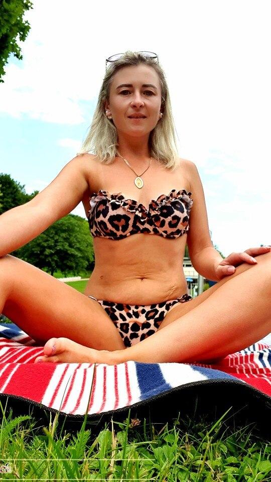 Women's Push-Up Ruffled Bikini photo review