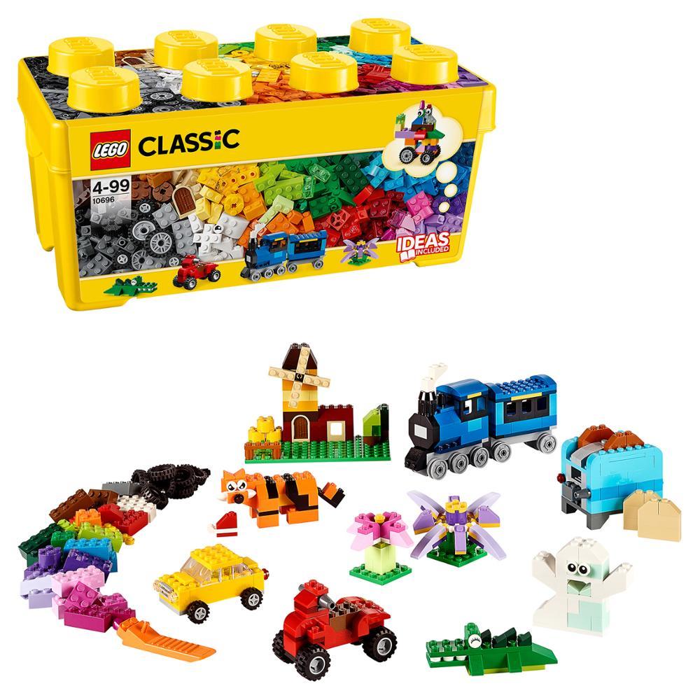 Design Lego classique 10696 ensemble créatif taille moyenne