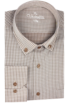 цена на Men's Plaid Checked Oxford Button-down Shirt Single Patch Pocket Casual Thick Contrast Standard-fit Long Sleeve 88gingham shirts