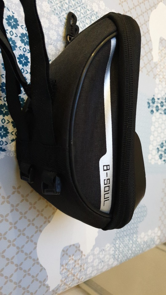 Cycling Front Frame Tube Bag photo review