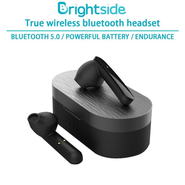 Brightside auriculares inalámbricos con Bluetooth, dispositivo deportivo con dos toques de Control y cancelación de ruido para videojuegos