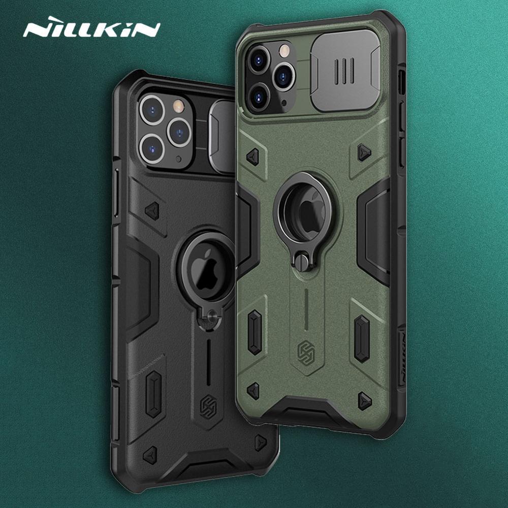 Чехол Nillkin для iPhone 12 11 Pro Max Camshield, армированный чехол для камеры, защитный чехол для iPhone 11 Pro Max 12 Mini 8 SE 2020, чехол