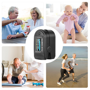 Image 5 - דופק Oximeter עליון זרוע Tonometer לחץ דם צג הדיגיטלי LCD מסך אוטומטי פעימות לב מד מכונת מדידת כלי
