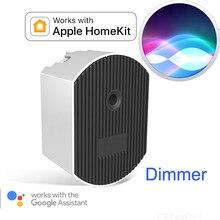Apple homekit dimmer casa inteligente google assistente de casa sonof wi fi controle remoto sem fio siri voz dim luzes