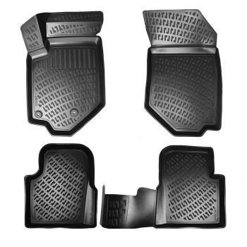 Mercedes C Class W204 2007-2014 3D Pool Floor Mats Special Production for Brand and Model adham ali hybrid model for production plan