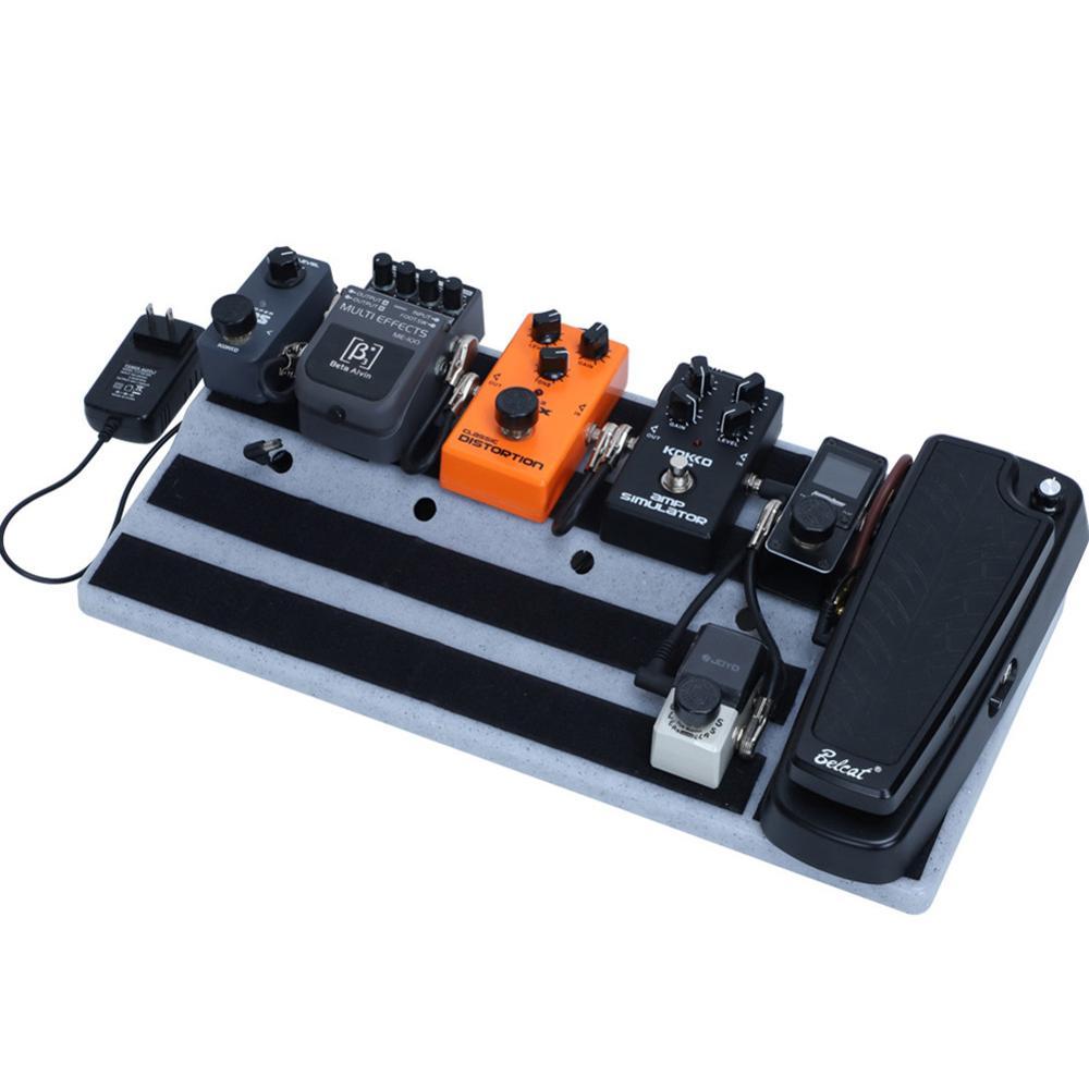 Dragonpad Guitar Pedal Board Mastery Effect Pedalboard RockBoard Hide Power Guitar Effects Pedal Boards Storage Bags Dropship