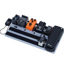 Pedał gitary Board mastering Effect Pedalboard RockBoard ukryj moc pedał efektów gitarowych deski do przechowywania torby akcesoria Dropship