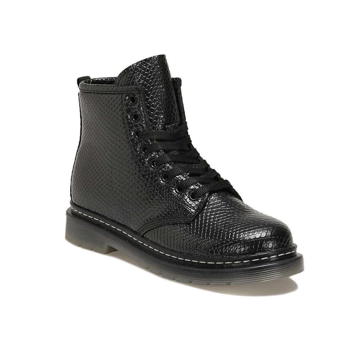 FLO 92.309185Y.Z أحذية نسائية سوداء بولاريس