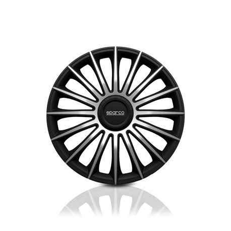 Set Sparco wheel covers Torino 14-inch black