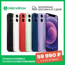 Смартфон Apple iPhone 12 mini 128GB [Ростест, доставка от 2 дней, новый, SIM любых операторов, официальная гарантия]