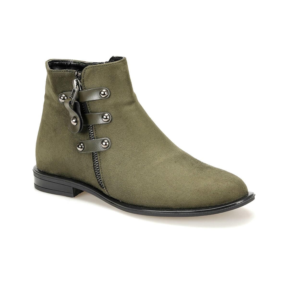FLO CROW56Z SUEDE Khaki Women 'S Boots BUTIGO