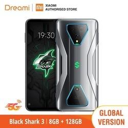 Wersja ue Xiaomi Black Shark 3 5G 128GB Rom 8GB Ram  5G telefon do gier [nowo uruchomiona promocja] Smartphone Mobile blackshark3