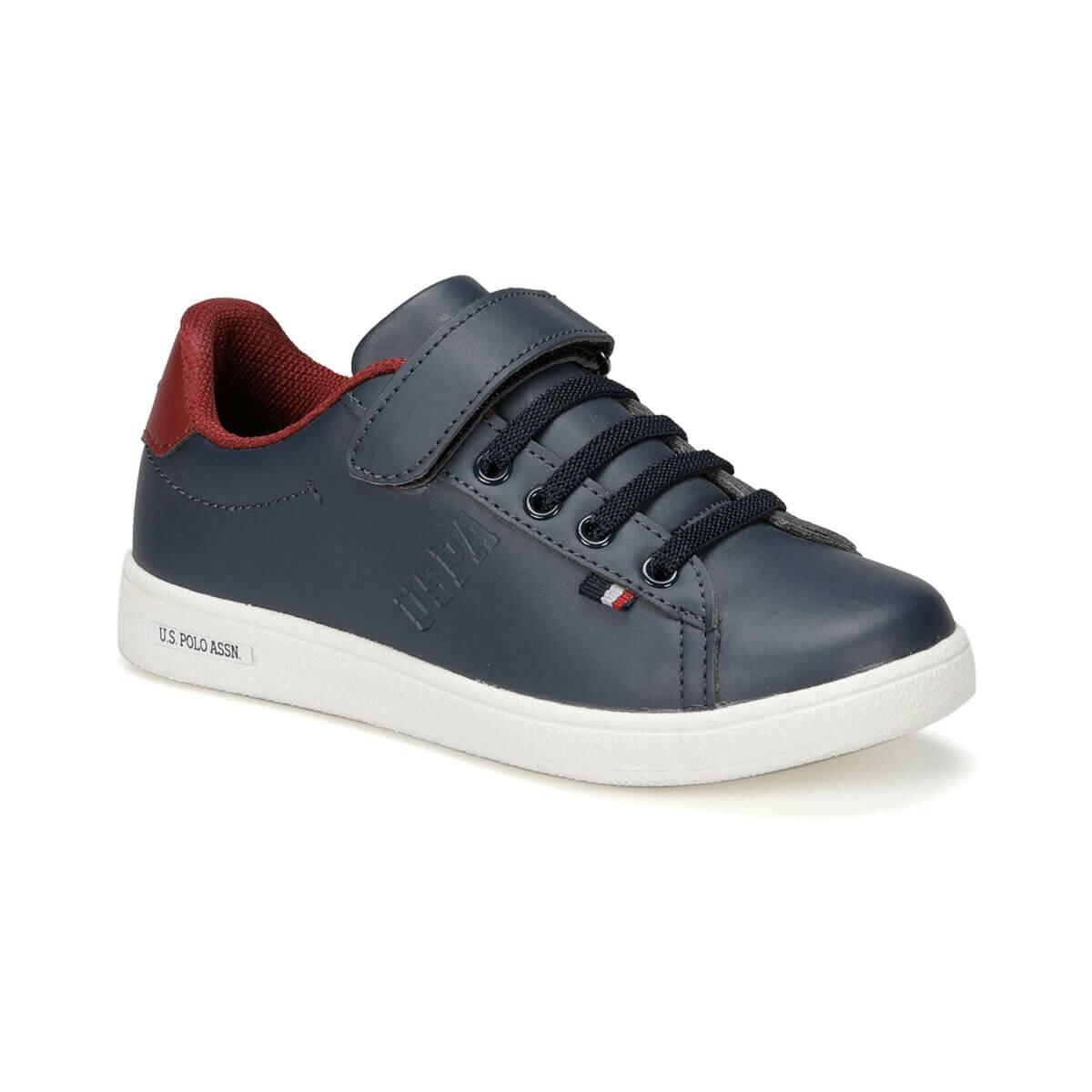 FLO FRANCO 9PR Navy Blue Male Child Shoes U.S. POLO ASSN.