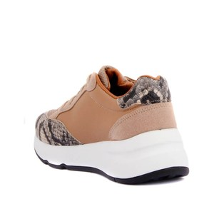 Image 5 - Moxee Women Sneakers  Crocodil Detailed Women Casual Shoes Very Comfortable Fashion Shoes Soft Famele Shoe
