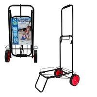 Folding Beach cart Aktive Beach 35x45x100 cm, cart holder beach aluminum aktive beach 52x37x105 cm