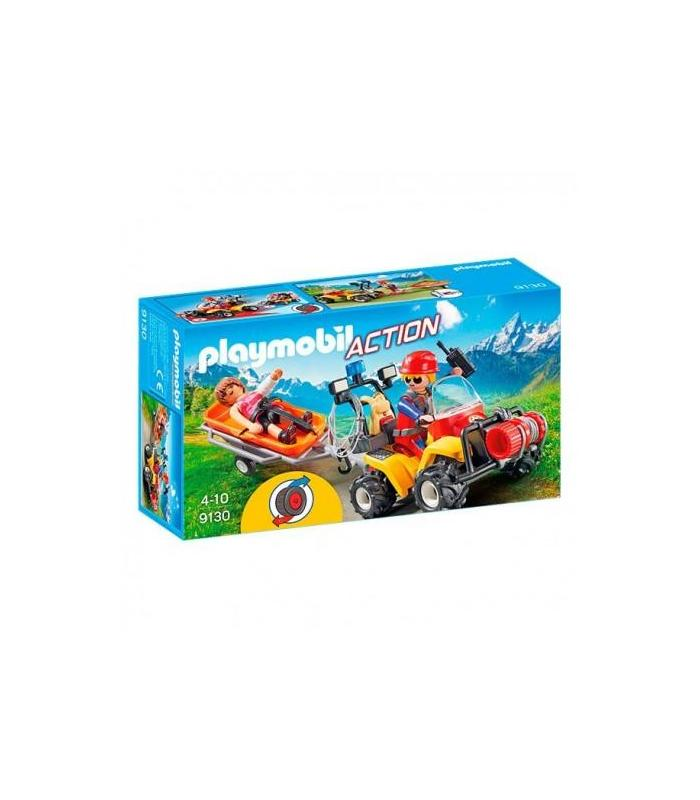 Playmobil 9130 Quad Mountain Rescue Toy Store