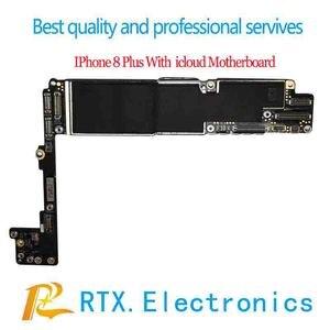 Image 3 - Iphone 6 6Plus 6S 6SP 7P 7 7plus 8 8Plus X Xsmax płyta główna z płytą główną Icloud kompletny zamek ID dla praktyki FIX techniczny
