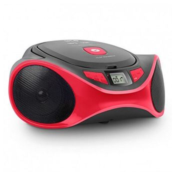 Radio CD MP3 SPC 4501R CLAM BOOMBOX USB Red