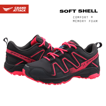 Outdoor Ladies Trainers Shoes Кроссовки Lace Up Soft Shell Hiking Walking Trekking Gym Fitness