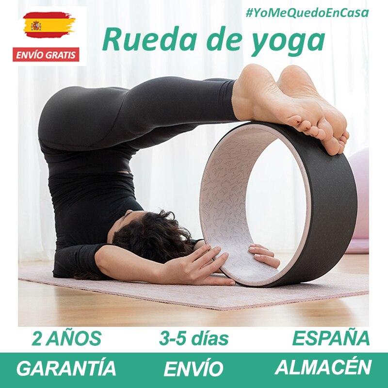 Rueda De Yoga Antideslizante Para Esterilla Yoga Colchoneta Ejercicio Resistente Al Sudor Y Durable Accesorios Para Mat Pilates