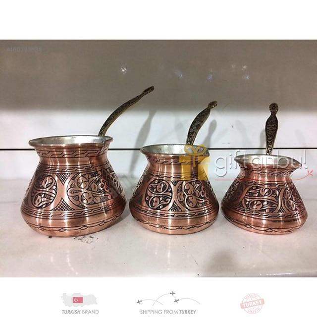Turkish Traditional Design Copper Ibrik 5