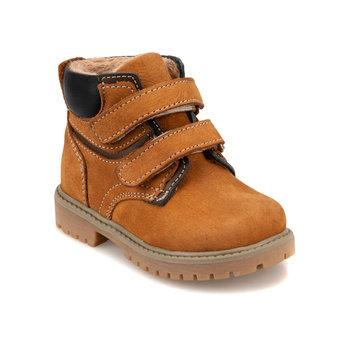 FLO 92 511734 B wielbłąd męskie buty dziecięce Polaris tanie i dobre opinie ALLIGATOR Korka Chłopcy