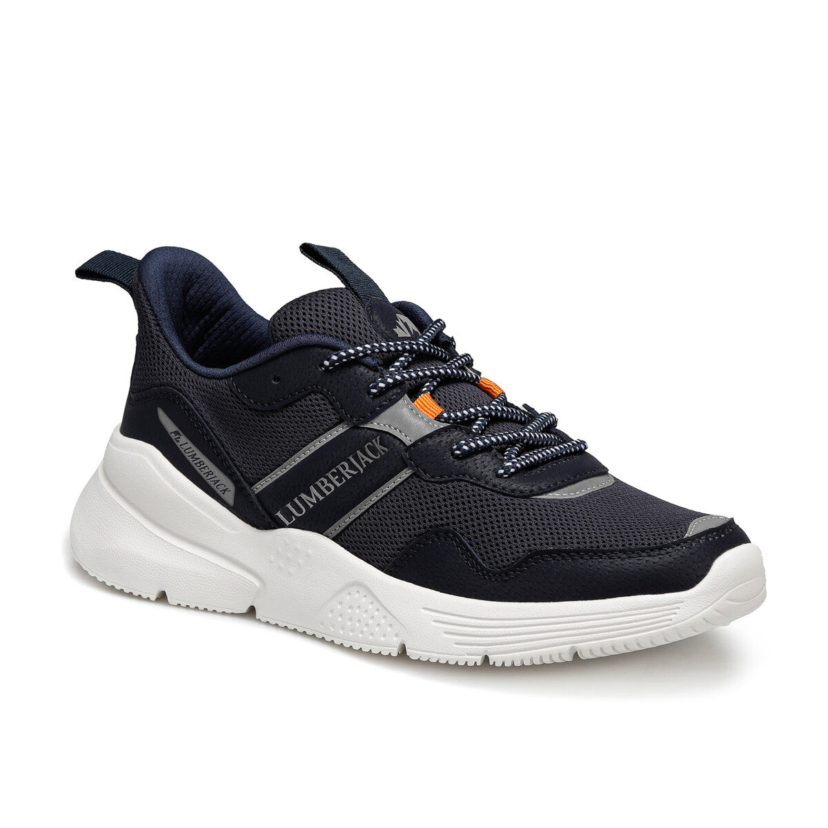 FLO Navy Blue Men's Sneaker Shoes Men Sneakers Lightweight Breathable Zapatillas Man Casual Shoes Footwear Zapatos Hombre LUMBERJACK BELGRADE