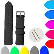 Ремешок для часов wb1061b22jb из силиконовой резины 22 мм цвета