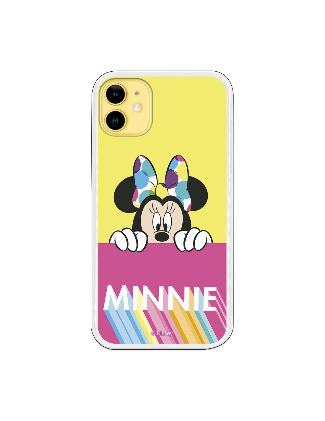 Disney Iphone 11 Case | Disney Minnie Pink Yellow Official IPhone 11 Case Disney Classics